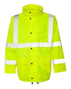 Wholesale cheap men waterproof winter reflective jacket work uniform