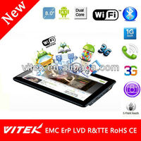 Latest Rockchip 8 inch Camera tablet pc software download android 4.0