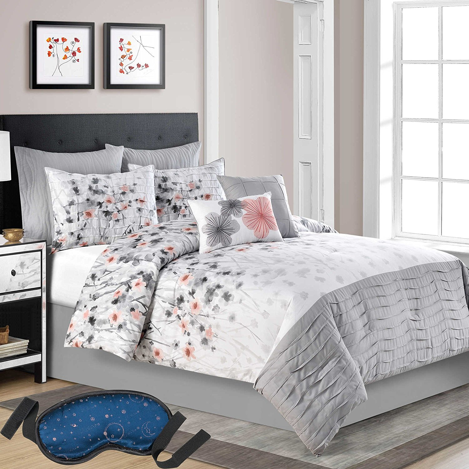 essence set piece com bedding comforter ip walmart home waikiki