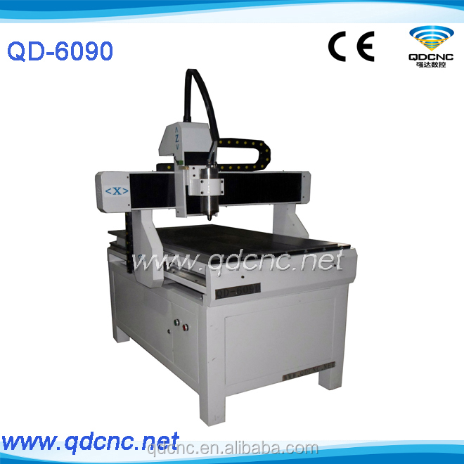 QD-6090 cnc carving machine with wentai software/chinese wood carving/cnc wood engraving rotary machine skype:qdcnc09