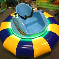 New arrival wholesale mini 12v battery powered bumper car price/chinese water inflatable ride electric bumper cars kids