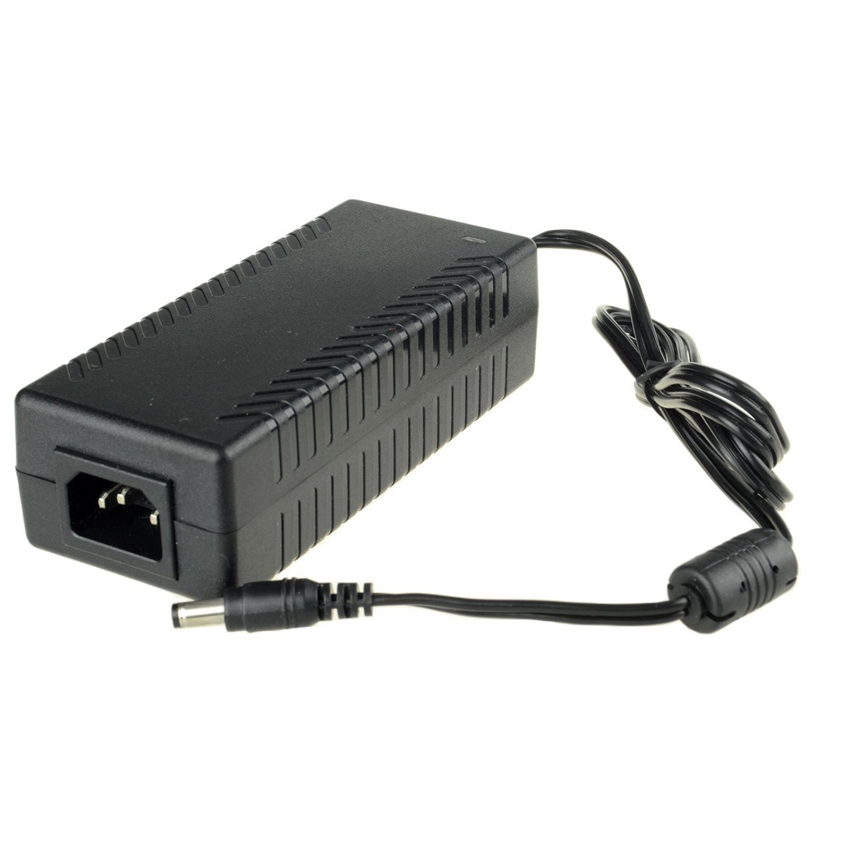 DSLRKIT AC 100-240V to DC 48V 3A 120W Power Adapter 5.5mm x 2.5/2.1mm for PoE Switch