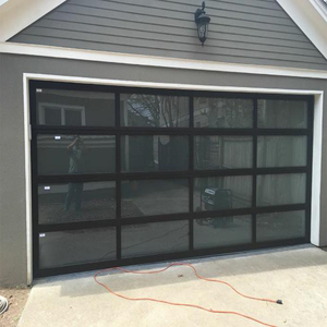 16x7 8x7 Clear Frosted Glass Garage Door Prices