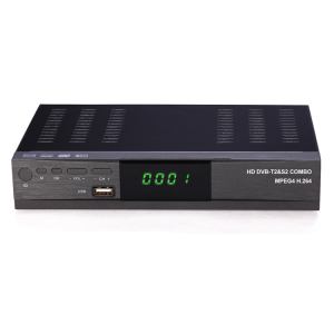Digital Satellite Receiver 1080p Combo DVB-S2 DVB-T2 IPTV OTT from telecast