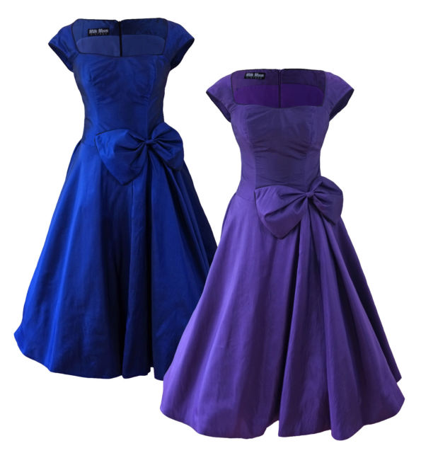 Get Quotations · HALTER NECK FLORAL 50s ROCKABILLY SWING PROM VINTAGE PARTY  DRESS 7391bc0acb43