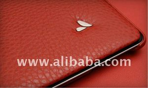 Vaja Red Libretto Leather Case for tablet pc
