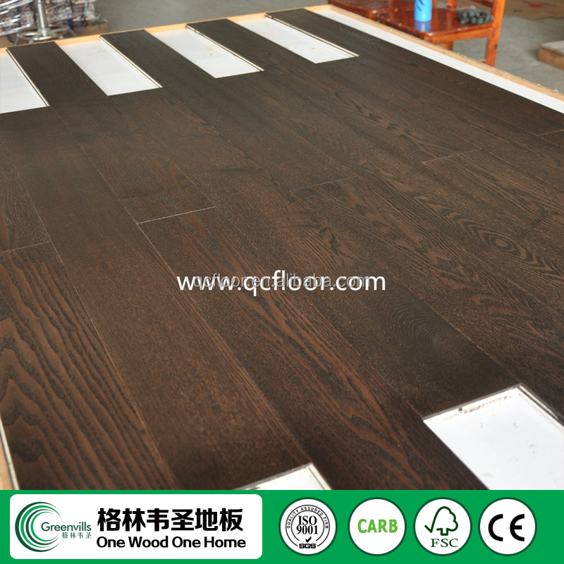 Ash covered fireproof insulation board MGO material Ash flooring
