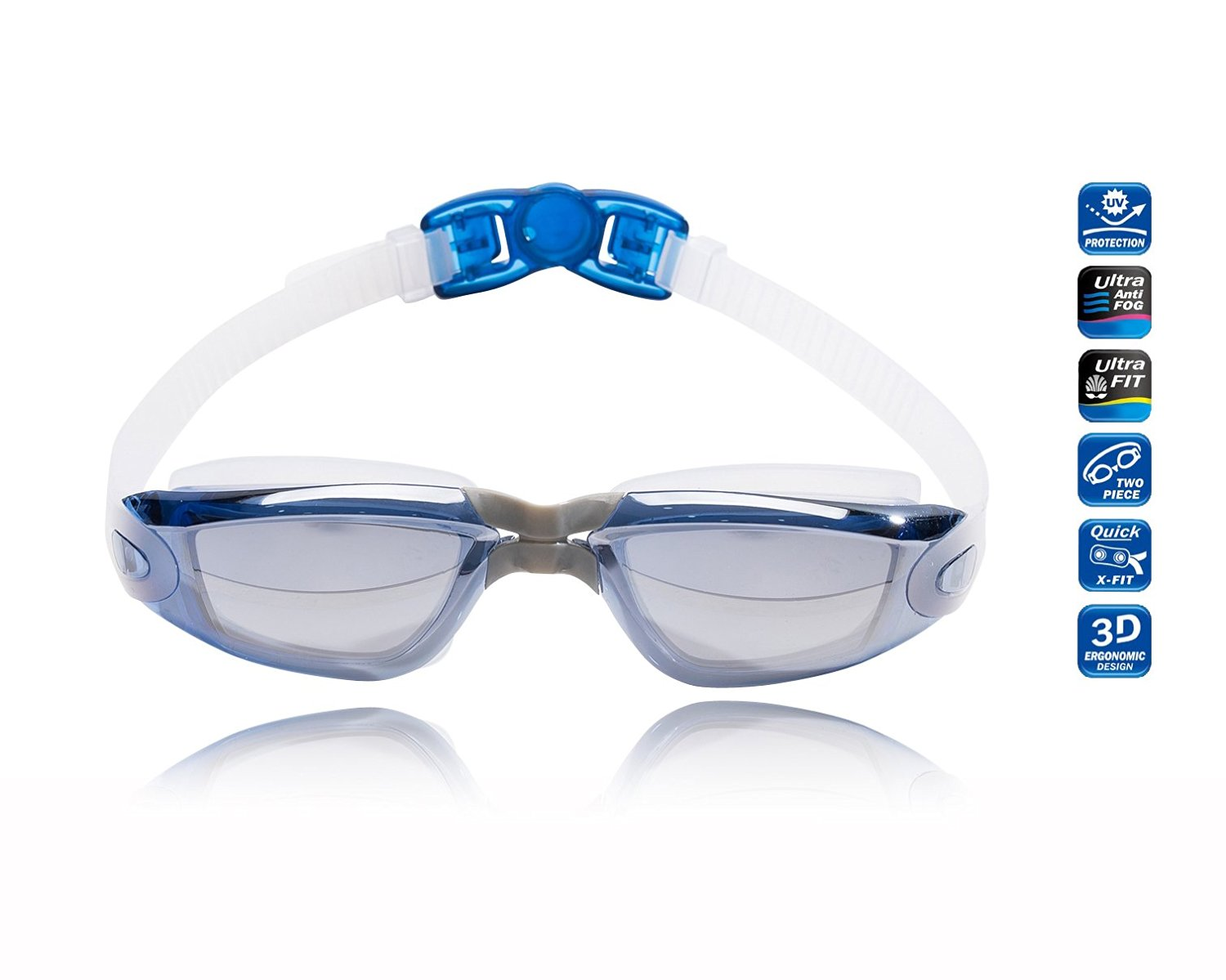 TRIXES Night and Day Vision Anti Glare UV Driving Comfort Safety Glasses