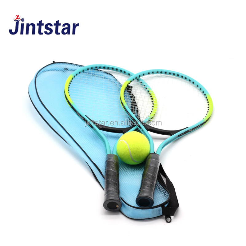 OEM custom 21 inch aluminium tennisracket/racque set voor kids