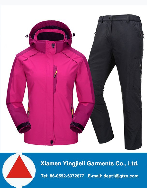 Outdoor Clothing Manufacturer Custom Women Overall Ski Snow Suits