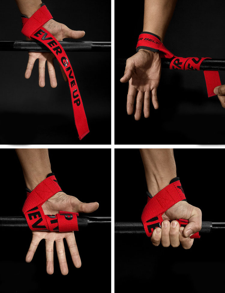 Wrist Protection Bodybuilding Training Gym Weight lifting Wrist Straps