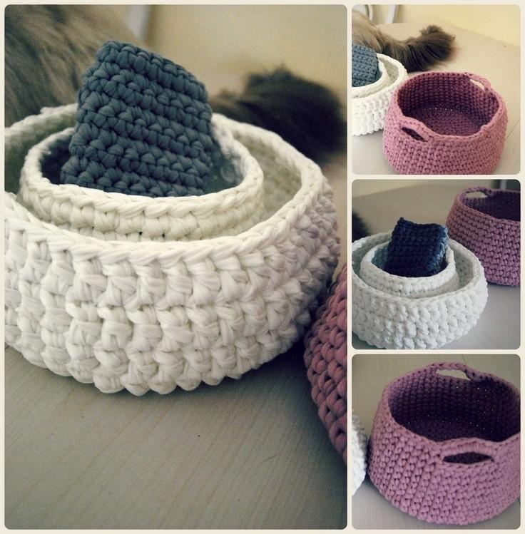 2016 Hot Sale T Shirt Yarn For Crochet Spaghetti Carpet Yarn Hand ...