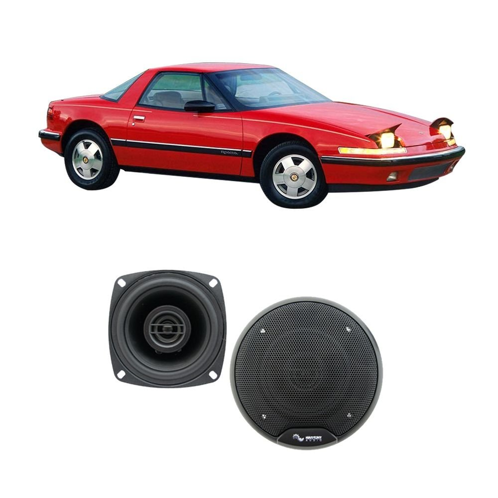 Fits Buick Reatta 1988-1989 Rear Dash Factory Replacement Speaker Harmony HA-R4 Speakers
