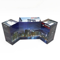 Custom with company logo marketing promotion gift foldable magic cube