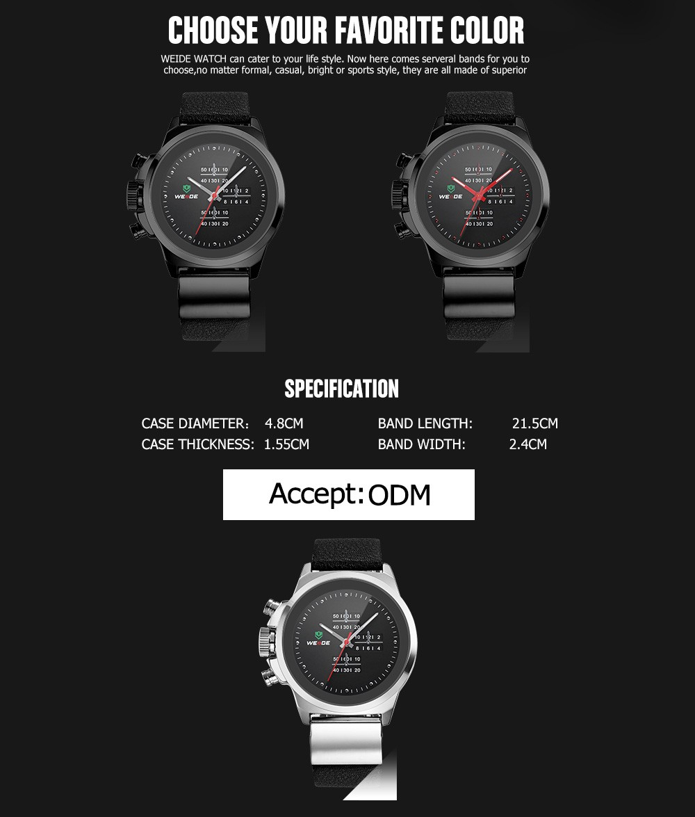 Watch wrist parts - Weide French Watch Brands Wrist Watch Parts Lovely Silicone Watch Quartz Movement Relogio Masculino Casual Watches