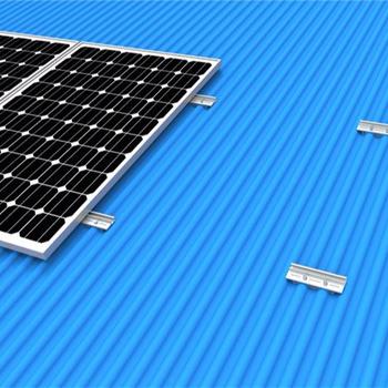 Rail Free Tin Roof Solar Panel Mounting Metal Roof Pv