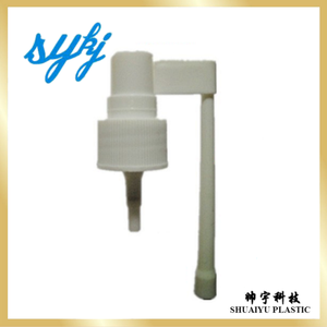 Shuaiyu SY-19-1 Nasal sprayer,Fashion design oral mist sprayer head,throat sprayer