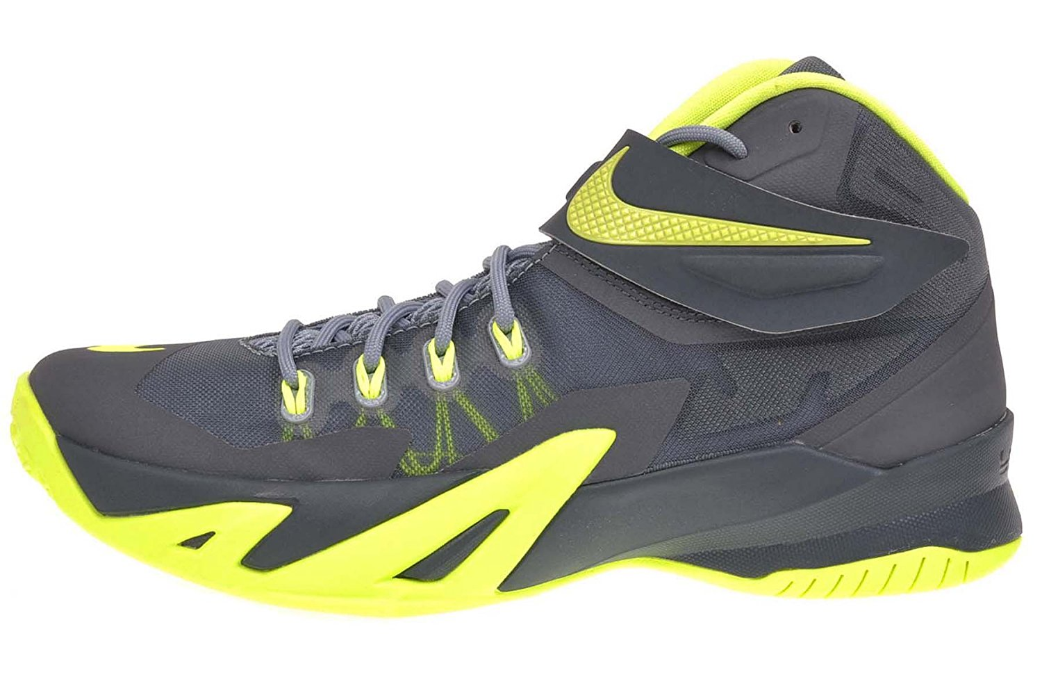 Buy nike zoom soldier VIII mens hi top basketball trainers 653641 ... 9a7f0f70c675