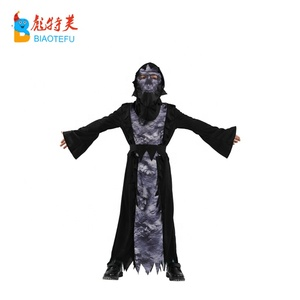 halloween ghost long robe sleeve cosplay costumes