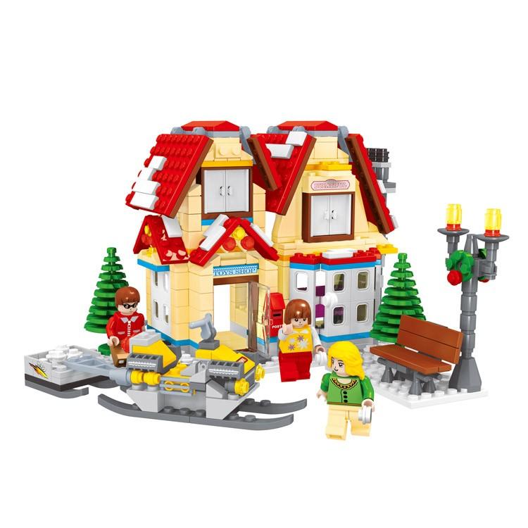 Best Selling 591 Pcs Fashion Block Set Intelligence Bricks Toy For ...