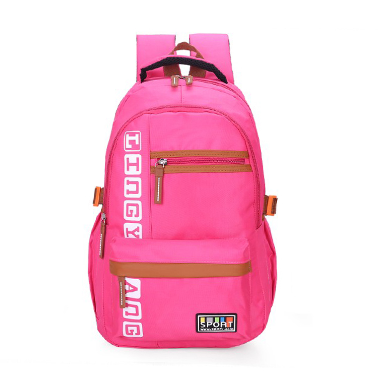3a1b04ba0 Atractiva Bolsa de Ordenador Portátil Mochilas Para Chicas Universitarias  Bolsas Mochila de Viaje de Poliéster Anti