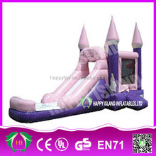 HI CE new design pretty lovely commercial cheap inflatable princess pool for sale