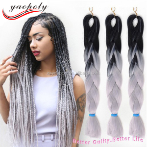 Hot sale ombre color two tone jumbo twist braiding hair