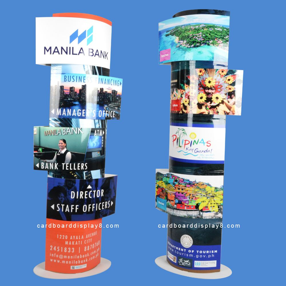 Totem stand pop display attractive for advertising Christmas Halloween promotion <strong>show</strong>