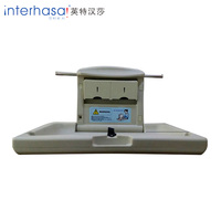 Wall mounted ABS plastic folding diaper changing table,baby change table