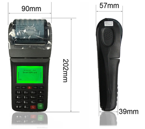 POS thermal with printer for Online order or Billing Payment solution. Remote Setting/Upgrades