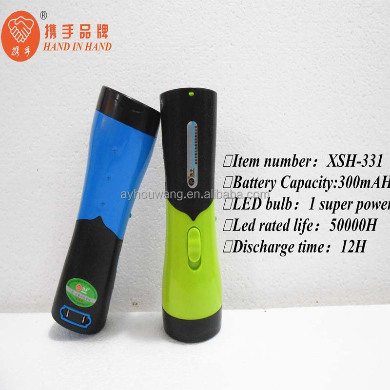 Bulk Battery Operated Plastic Hand Lamp Searchlight Emergency ...