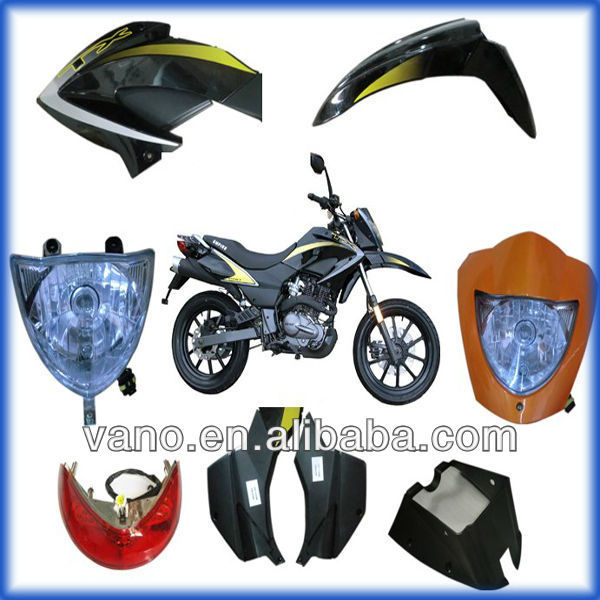 TX200 motorcycle body plastic parts