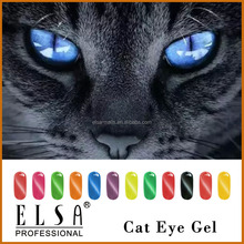 Elsa free samples private label soak off gel polish, cat eyes gel nail polish