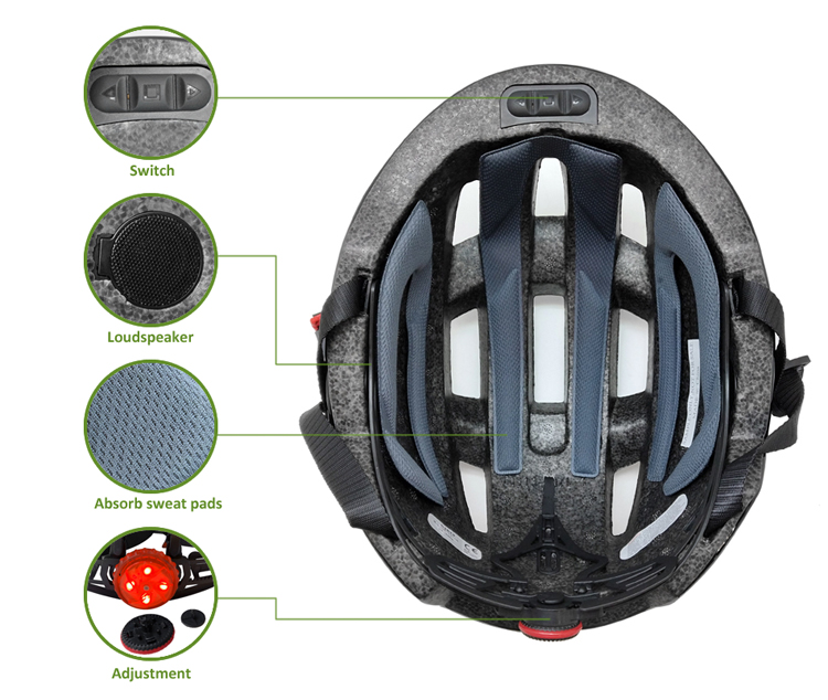 Helmet Built In Bluetooth 10