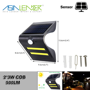 Ideal for Walkway, Garden, Yard, Deck, Patio, Fence COB LED Security Light With Motion Sensor