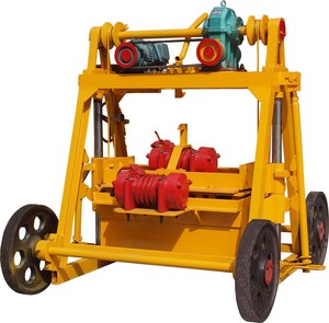 with german technology concrete stacking block QTF 40-3B Egg laying block making machines
