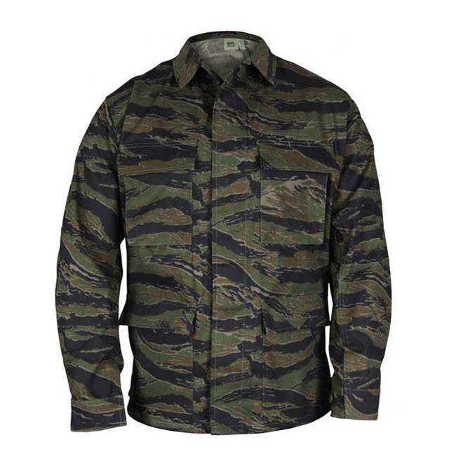 Cheap Ripstop Tactical Shirts Tiger Stripe Camo Military Jacket  Camouflage Army Uniform