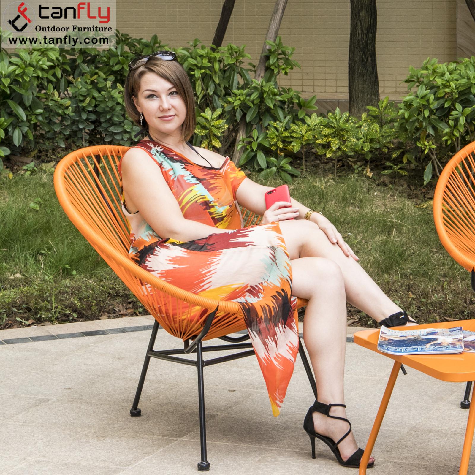 Patio Garden Rattan Outdoor Acapulco Rocking Chair