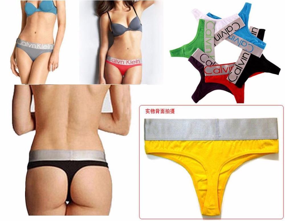 75400f753643c5 Get Quotations · Hot sale 5pcs lot cotton panties sexy women s thong c string  underwear women G-