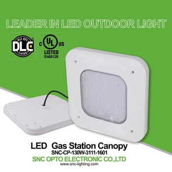Dlc Ul Gas Station Led Canopy Lights,130w Led Canopy Light Outdoor ...