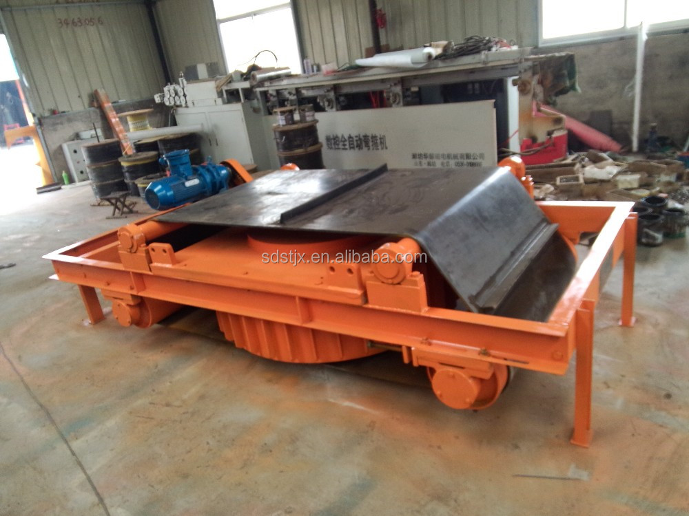 Self-Cleaning Electromagnetic Separator For Tramp Iron / Electro Magnetic Separator