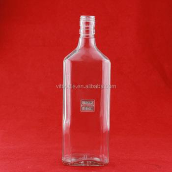 Wholesale Novelty Liquor Glass Bottle 750ml Glass Wine Bottle ...