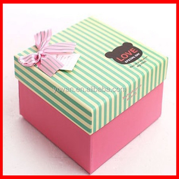 Where To Buy Decorative Boxes Entrancing Cute Design High Quality Clothes Packaging Baby Gift Decorative Decorating Design