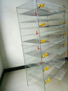 New product for breeding farm of semi automatic quail cages for sale HJ-QC400A