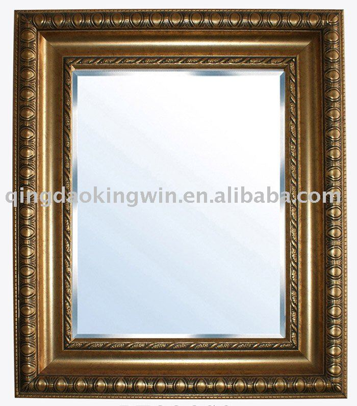 Antique Gold Framed Wall Mirror,Crafted Of Polystyrene - Buy Gold ...