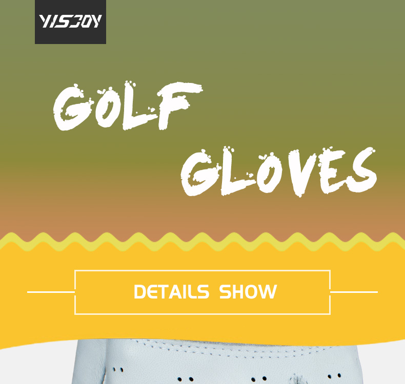 Wholesale unique professional all weather mens womans oem white leather golf gloves manufacturer custom cheap price for sale