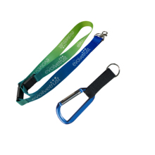 Made In China <span class=keywords><strong>Ferramenta</strong></span> <span class=keywords><strong>Multi</strong></span> <span class=keywords><strong>Mosquetão</strong></span> 25*900 Mm Impresso Cordão Keycord Para Empresa