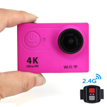 Waterproof Action Camera Ultra HD 4K with Remote Control 2 inch Sports Cameras Mini Camcorders Car DVR 1080P FHD DV Helmet Cam