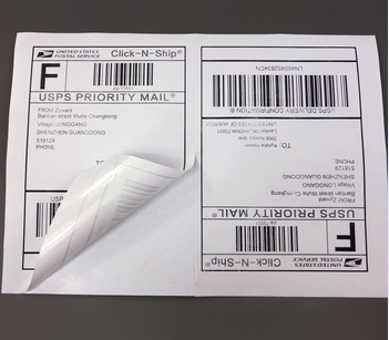 Shipping <strong>label</strong> half sheets self adhesive 100 sheets A5 <strong>label</strong> packing <strong>Label</strong>