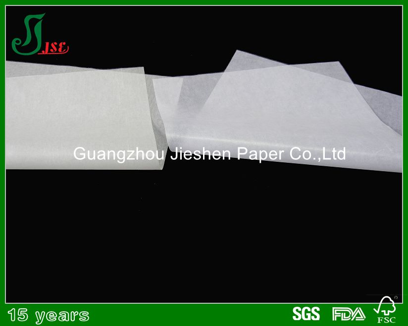 Unbleached food grade 21gsm butter paper for wholesale